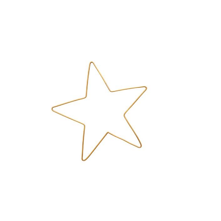 Stern aus Messing handgefertigt
