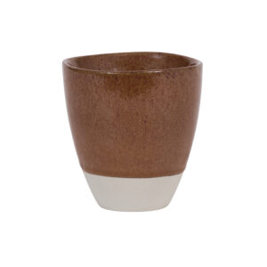 Steinzeug Tasse braun UNC