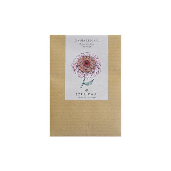 Blumensamen Zinnie Zinderella Lilac