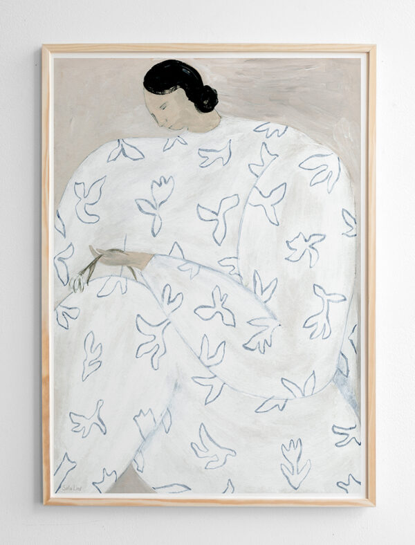 Poster White flower Fine Little Day