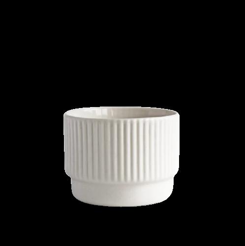 Becher Cappucchino weiß