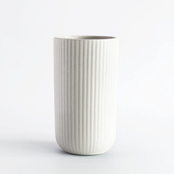 Becher Latte weiß Keramik