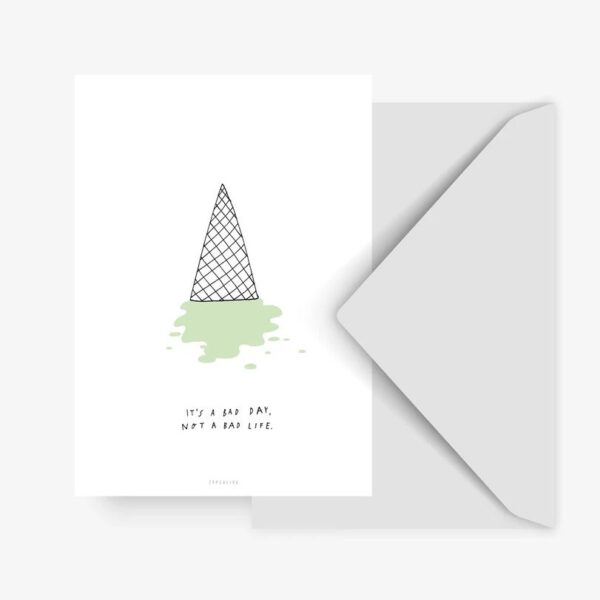 Postkarte - Bad Day