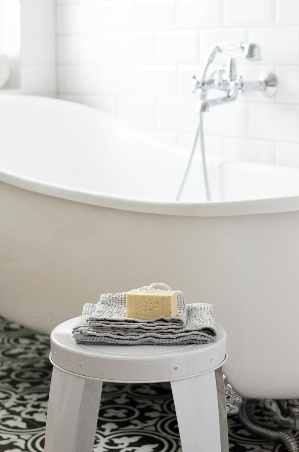 skandinavisches Badezimmer
