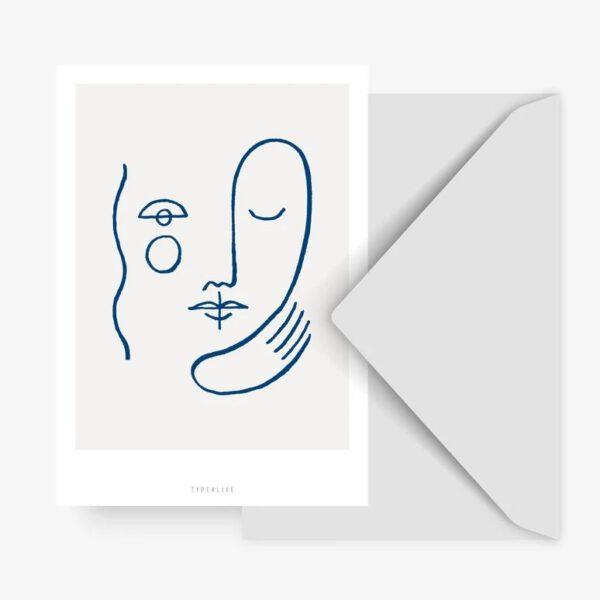 Postkarte - abstrakt