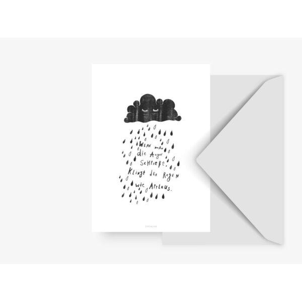Postkarte - Applaus typealive
