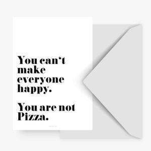 Postkarte - Pizza typealive